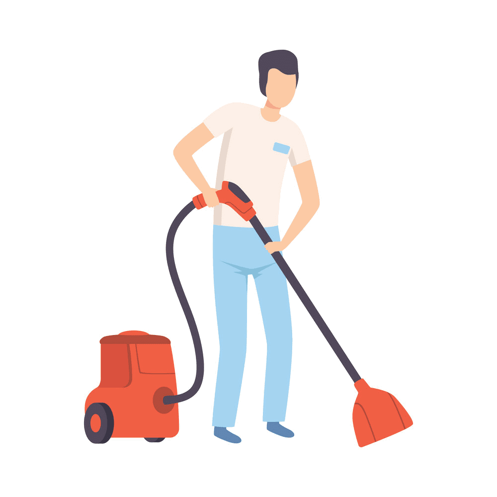 First-Up-Cleaning-Services-Male-Technician-Vacuuming-1
